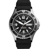 Часы FOSSIL FB-02 Three Hand Date Black Silicone (FS5689)