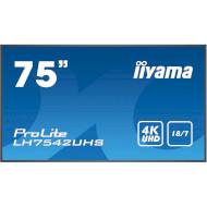 """Информационный дисплей LFD 75"""" IIYAMA ProLite LH7542UHS-B1"""