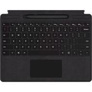 Клавиатура-обложка для планшета MICROSOFT Surface Pro X Signature Type Cover with Slim Pen Bundle Black + Slim Pen (QSW-00001)