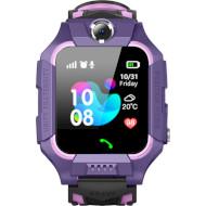 Часы-телефон детские GOGPS K24 Purple