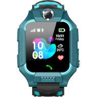 Часы-телефон детские GOGPS K24 Green