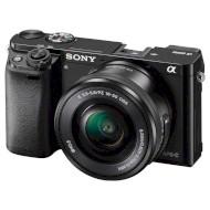 Фотоаппарат SONY Alpha 6000 Black Kit 16-50mm f/3.5-5.6 OSS E PZ (ILCE6000LB.CEC)