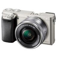 Фотоаппарат SONY Alpha 6000 Silver Kit 16-50mm f/3.5-5.6 OSS E PZ (ILCE6000LS.CEC)