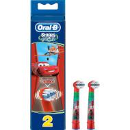 Насадка для зубной щётки BRAUN ORAL-B Stages Power EB10 Cars 2шт (81318057/80250543-CARS)