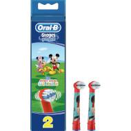 Насадка для зубной щётки ORAL-B Stages Power EB10 Mickey Mouse 2шт (81318057/80250543-MM)