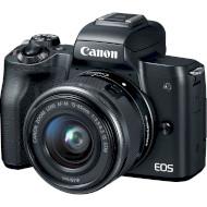 Фотоаппарат CANON EOS M50 Black Web Kit EF-M 15-45mm f/3.5-6.3 IS STM