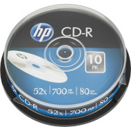 CD-R HP 700MB 52x 10pcs/spindle (69308/CRE00019-3)
