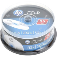 CD-R HP 700MB 52x 25pcs/spindle (69311/CRE00015-3)