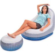 Надувные кресло и пуф JILONG 27497