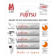 Аккумулятор FUJITSU AA 1900мАч 4шт/уп (HR-3UTCEX-4B)