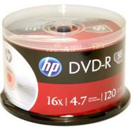 DVD-R HP Inkjet Printable 4.7GB 16x 50pcs/spindle (69317/DME00025WIP-3)