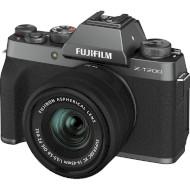Фотоаппарат FUJIFILM X-T200 Dark Silver Kit XC 15-45mm f/3.5-5.6 OIS PZ