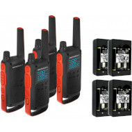 Набор раций MOTOROLA Talkabout T82 Tourism 4-pack