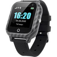 Часы-телефон детские GOGPS T01 Black