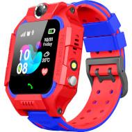 Часы-телефон детские GOGPS K24 Red