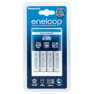 Зарядное устройство PANASONIC Eneloop Basic BQ-CC51 + Eneloop 4 x AA 1900 mAh (K-KJ51MCC40E)