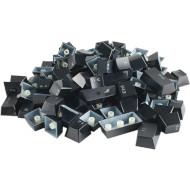Набор кейкапов для клавиатуры GLORIOUS Mechanical Keyboard Keycaps Black