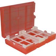 """Защитный бокс для HDD INTER-TECH 1x3.5""""/4x2.5"""" Red (88885393)"""