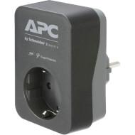 Сетевой фильтр-розетка APC Essential SurgeArrest PME1WB-RS Black