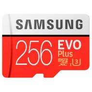 Карта памяти SAMSUNG microSDXC EVO Plus 2020 256GB UHS-I U3 Class 10 + SD-adapter (MB-MC256HA/EU)