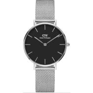 Часы DANIEL WELLINGTON Petite Sterling 36mm Black (DW00100304)