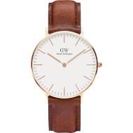 Часы DANIEL WELLINGTON Classic St Mawes 36mm Rose Gold (DW00100035)