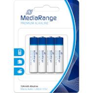 Батарейка MEDIARANGE Premium Alkaline AAA 4шт/уп (MRBAT101)