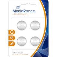 Батарейка MEDIARANGE Lithium CR2025 4шт/уп (MRBAT131)