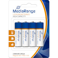 Батарейка MEDIARANGE Lithium AA 4шт/уп (MRBAT154)