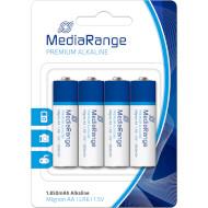 Батарейка MEDIARANGE Premium Alkaline AA 4шт/уп (MRBAT104)