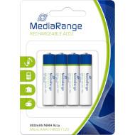 Аккумулятор MEDIARANGE Rechargeable AAA 800мАч 4шт/уп (MRBAT120)