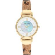 Часы ANNE KLEIN Considered Women's Swarovski Crystal Accented Vegan Leather Strap (AK/3660MPLE)
