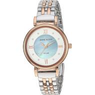 Часы ANNE KLEIN Considered Women's Solar Powered Swarovski Crystal Accented Bracelet (AK/3631MPRT)