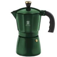 Кофеварка гейзерная BERLINGER HAUS Metallic Line Emerald Collection (BH-6478)