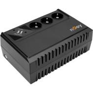 ИБП NJOY Renton 650 USB (UPLI-LI065RE-CG01B)