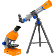 Микроскоп BRESSER Junior Microscope & Telescope Set (8850900)