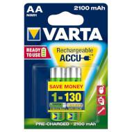 Аккумулятор VARTA Rechargeable Accu AA 2100mAh 2шт/уп (56706 101 402)