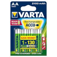 Аккумулятор VARTA Rechargeable Accu AA 2100mAh 4шт/уп (56706 101 404)