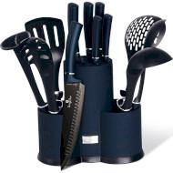 Набір кухонного приладдя BERLINGER HAUS Metallic Line Aquamarine Edition 12пр (BH-6249)