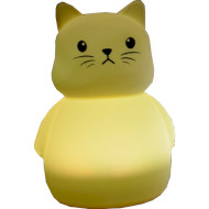 Ночник COLORFUL Silicone Cat