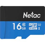 Карта памяти NETAC microSDHC P500 Standard 16GB UHS-I Class 10 (NT02P500STN-016G-S)