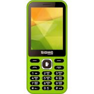 Мобильный телефон SIGMA MOBILE X-style 31 Power Green