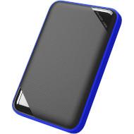 Портативный жёсткий диск SILICON POWER Armor A62 4TB USB3.1 Black/Blue (SP040TBPHD62LS3B)