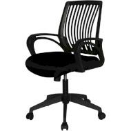 Кресло офисное BARSKY Office Plus Black (OFB-01)