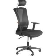Кресло офисное BARSKY Mesh Black/White (BM-04)