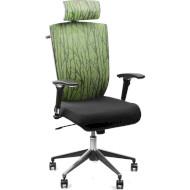 Кресло офисное BARSKY Eco Green/Black (G-1)