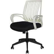 Кресло офисное BARSKY Office Plus Black/White (OFW-01)