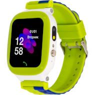 Годинник-телефон дитячий ATRIX iQ2200 IPS Cam Flash Green