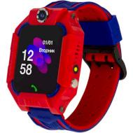 Часы-телефон детские ATRIX iQ2500 IPS Cam Flash Red (IQ2500 RED)
