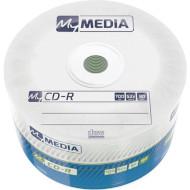 CD-R MY MEDIA Matt Silver 700MB 52x 50pcs/wrap